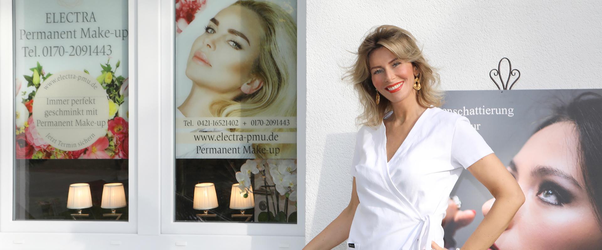 Svitlana Lauterbach, Permanent Make-Up Meisterin Bremen Titel Kontakt